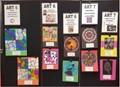Art Students Work on Display