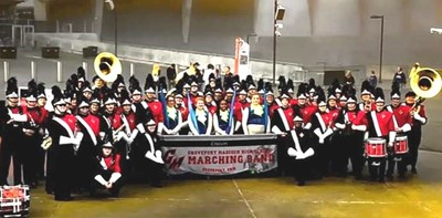 GMHS Bands Take Top Honors at Peach Bowl Events