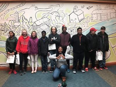 Eighth Grade SOAR Group Visits Ohio University
