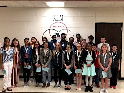 New Class of National Junior Honor Society Inductees