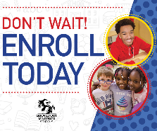 Don't Wait!  Register Today for the 2020-2021 School Year!