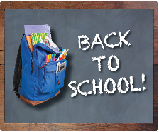 School Starts on Aug. 16. Get Your Back to School Information Here!