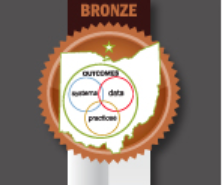 Dunloe is awarded with a Bronze PBIS award.