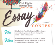 Cash Awards for Civil Rights Essay Contest Winners!