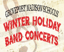 Winter Holiday Band Concerts Schedule