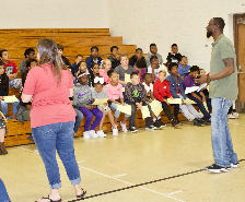 Fifth-Graders Tour Middle Schools