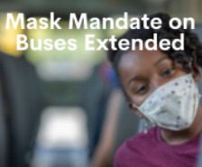 Mask Mandate on Buses Extended