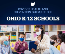 OH Dept. of Health Recommends Face Masks For Staff and Students