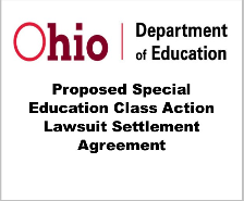 ODE Proposed Class Action Lawsuit Settlement - Required Public Notice