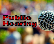 Federal Title I Program Public Comment Hearing, Thurs., Oct 8