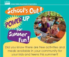 Free Summer Lunch Program Runs from June 14 thru August 6
