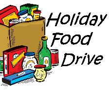 Asbury Student Council Fall Food Drive