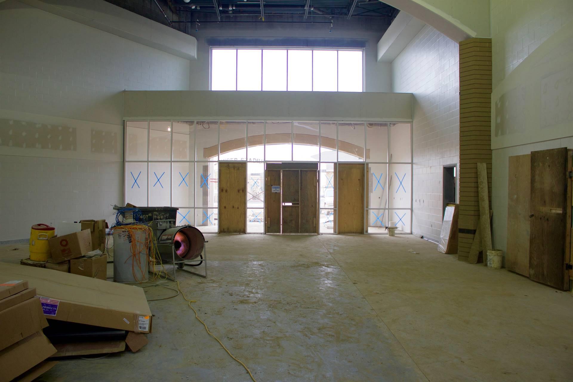 GMHS under construction