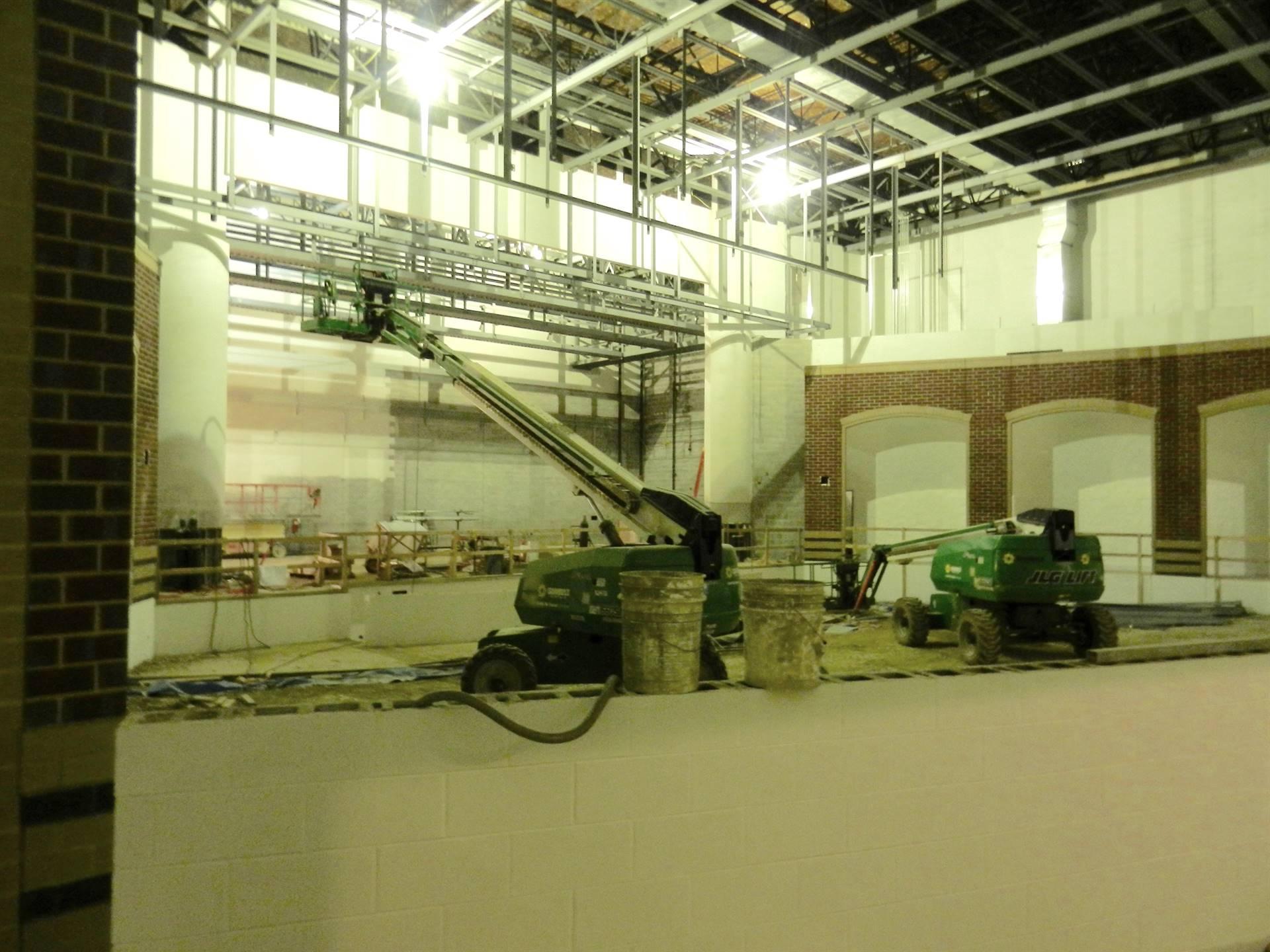 New high school under construction