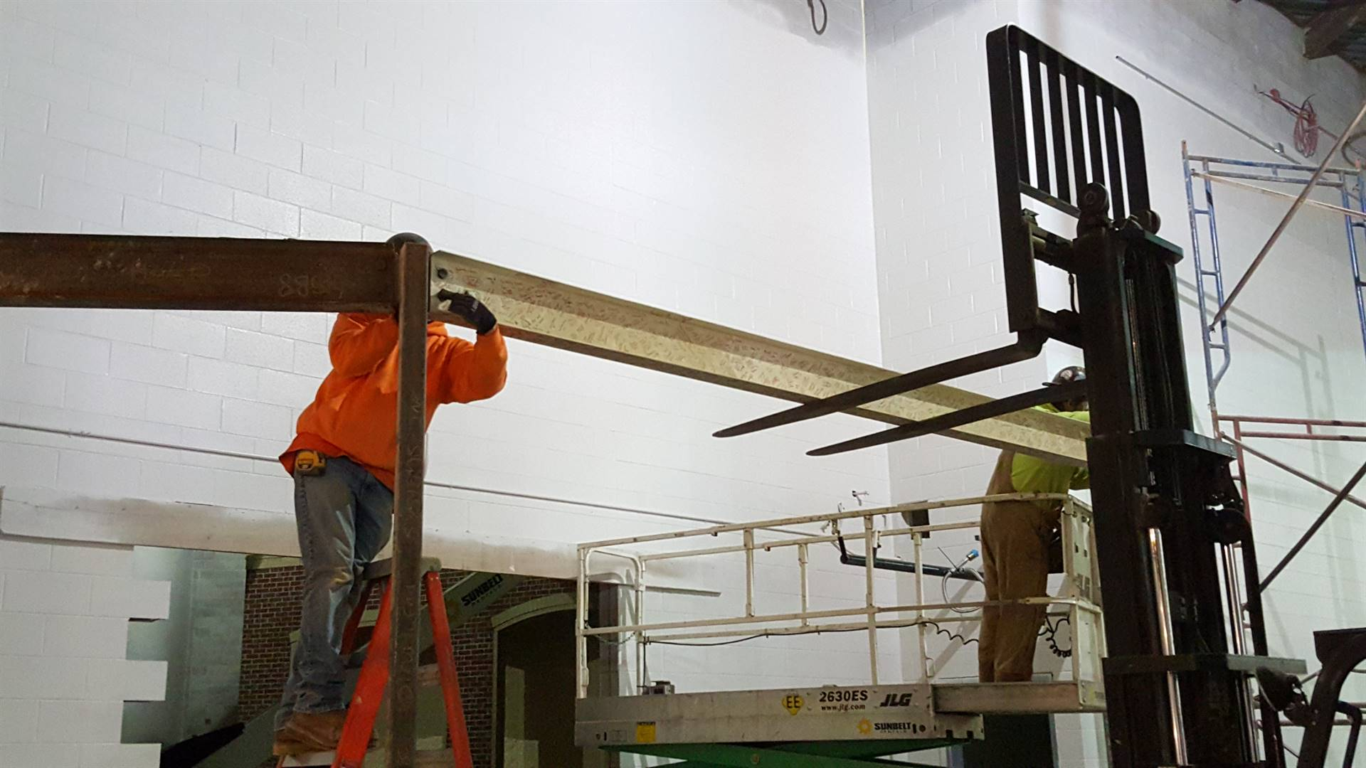I-Beam Installation