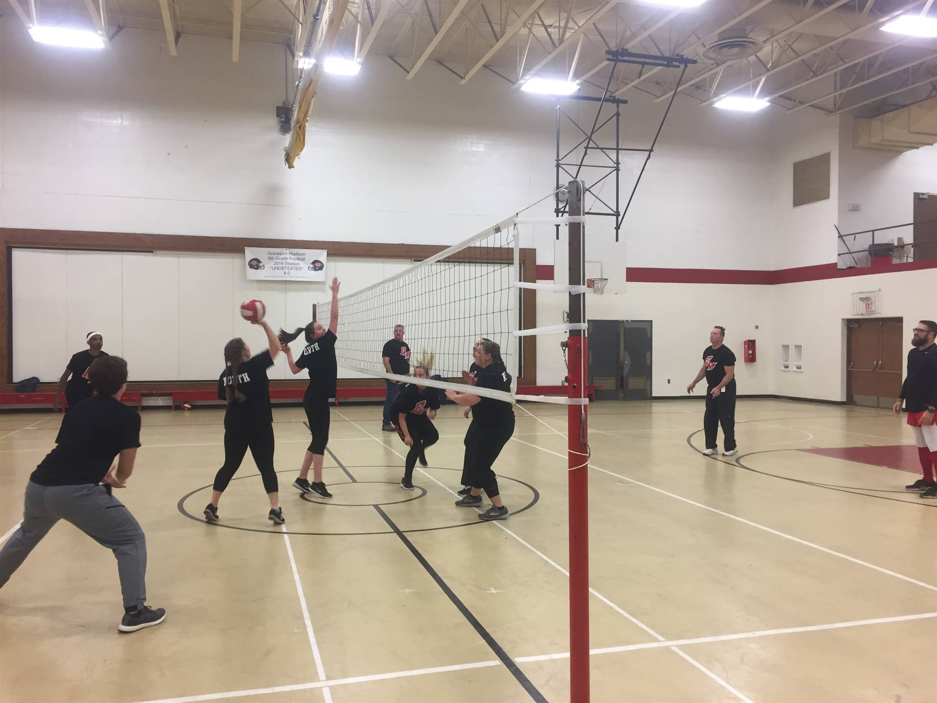 Staff Vs. Students Vollyball