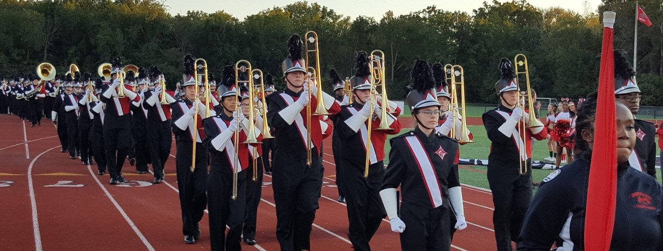 2018 GMHS Marching Band