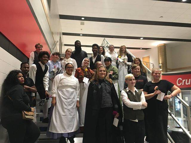 Fall Play Students