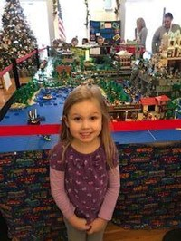 Preschool visits Legoland at Town Hall