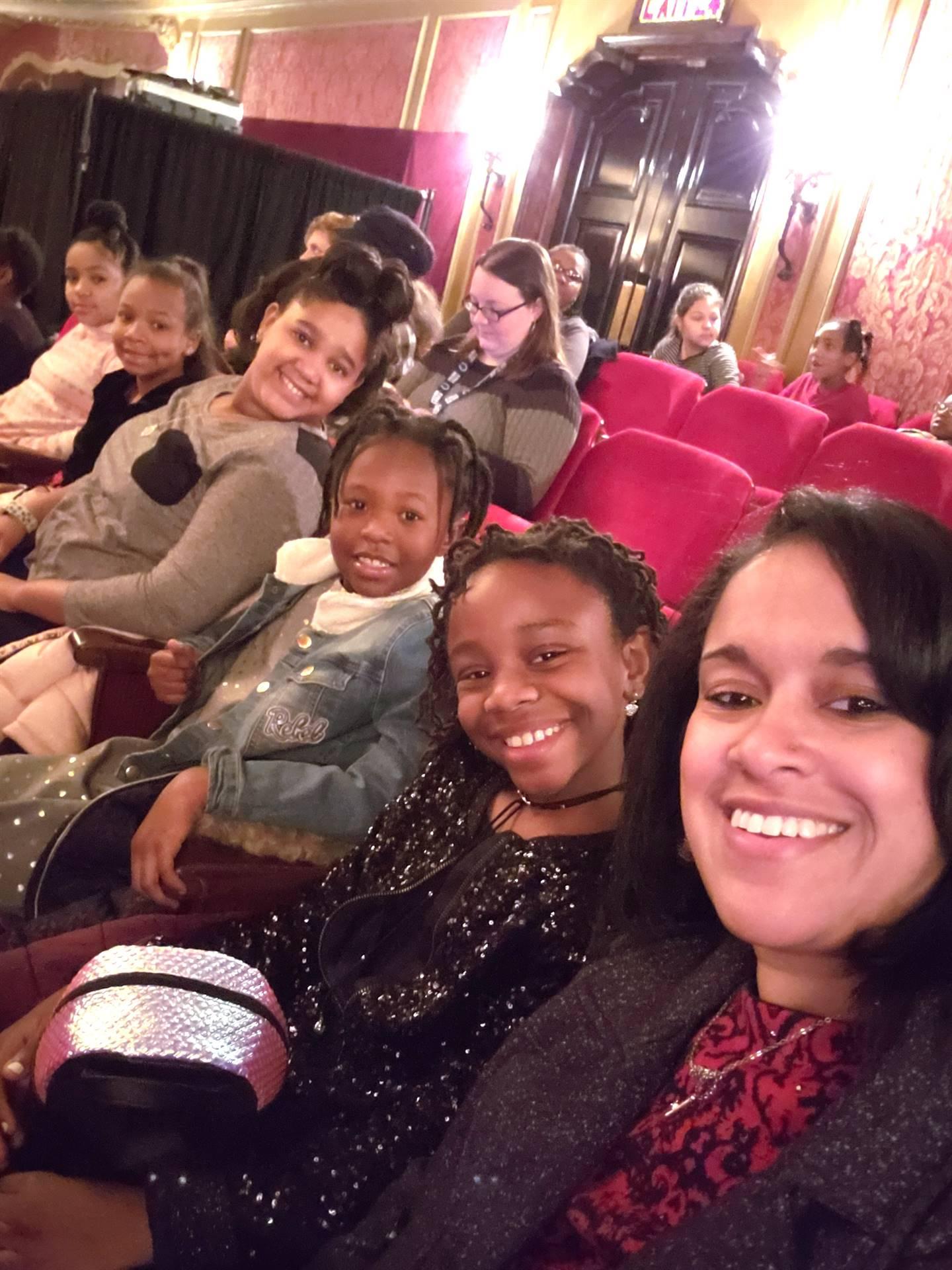 Students Attending the Nutcracker Ballet