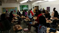 Students CPR Training