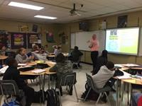 Mr. Jones visits 6th grade ELA.