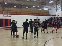 Staff VS Students Basketball 2018