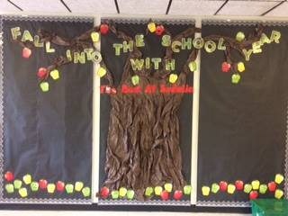 Fall into the school year with the best at Sedalia bulletin board