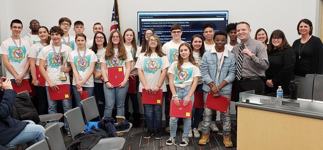 2018 Model U.N. Students