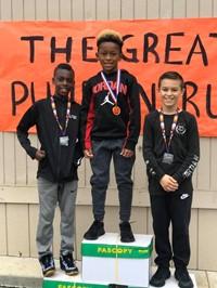student winners, great pumpkin run, gym class