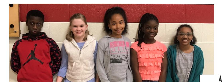 Fifth Grade Integrity Kids!