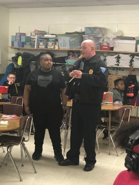 Student recognized as student of the week