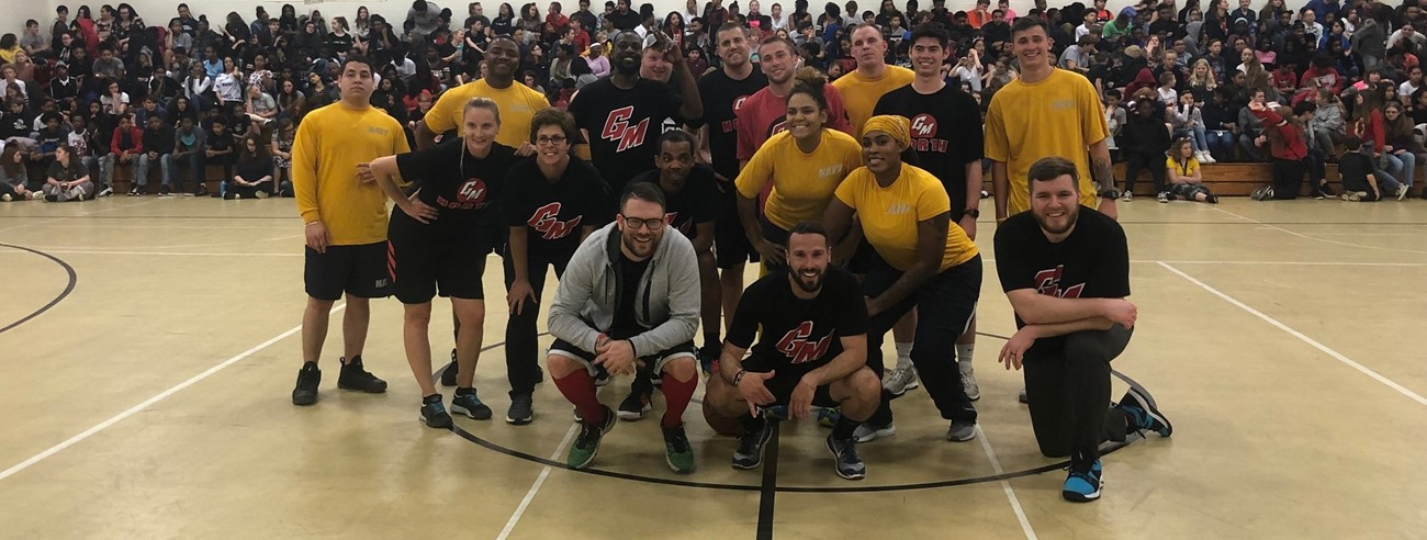 Students VS. Staff Basketball 2019