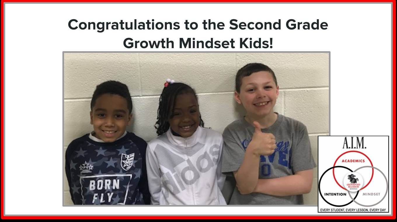 Second Grade Growth Mindset Kids