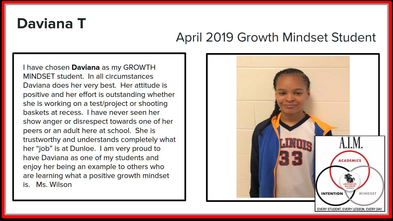 Growth Mindset Daviana