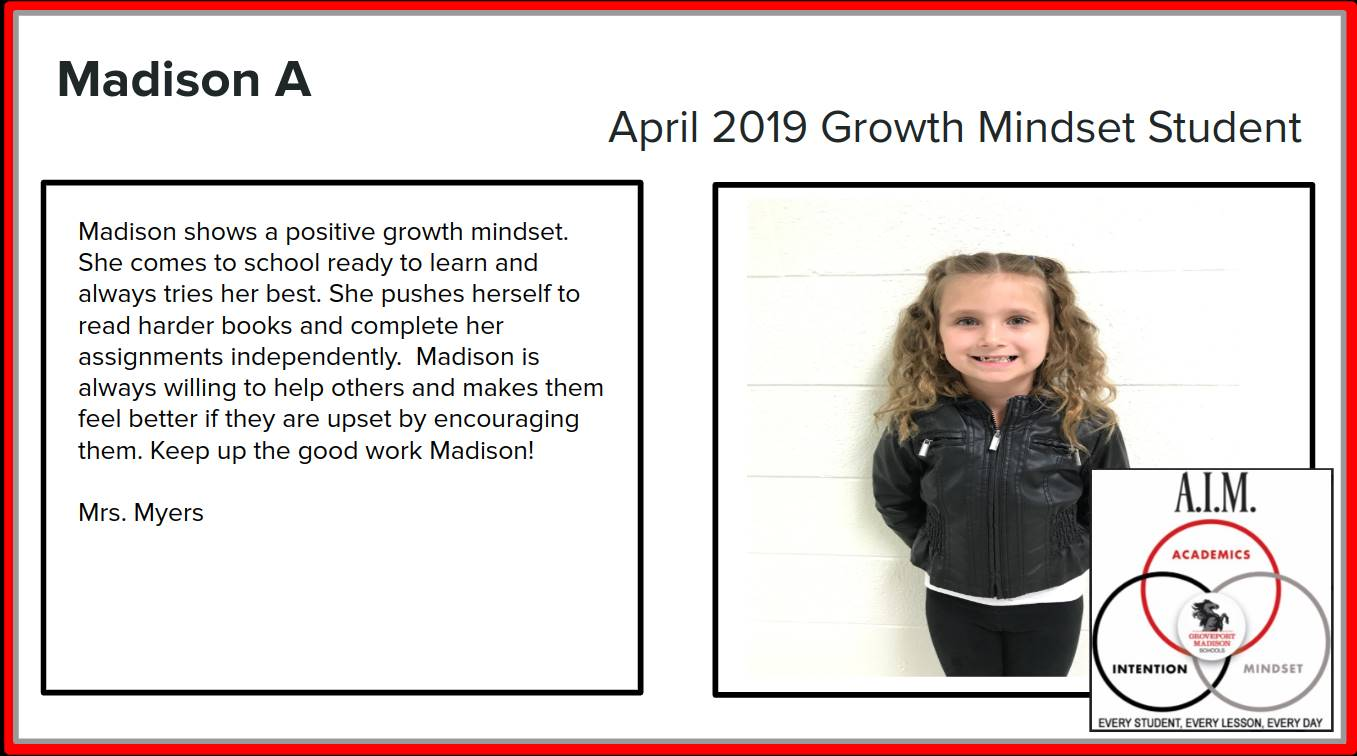 Growth Mindset Madison