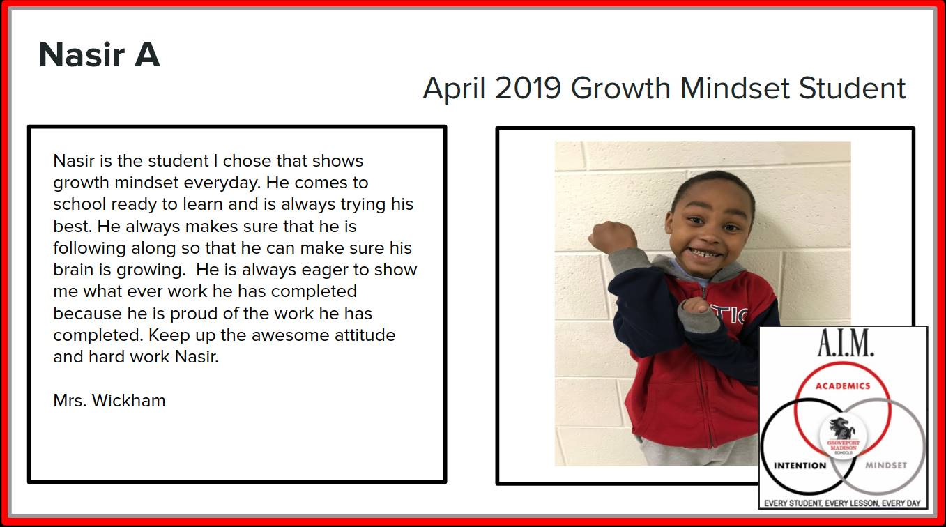 Growth Mindset Nasir