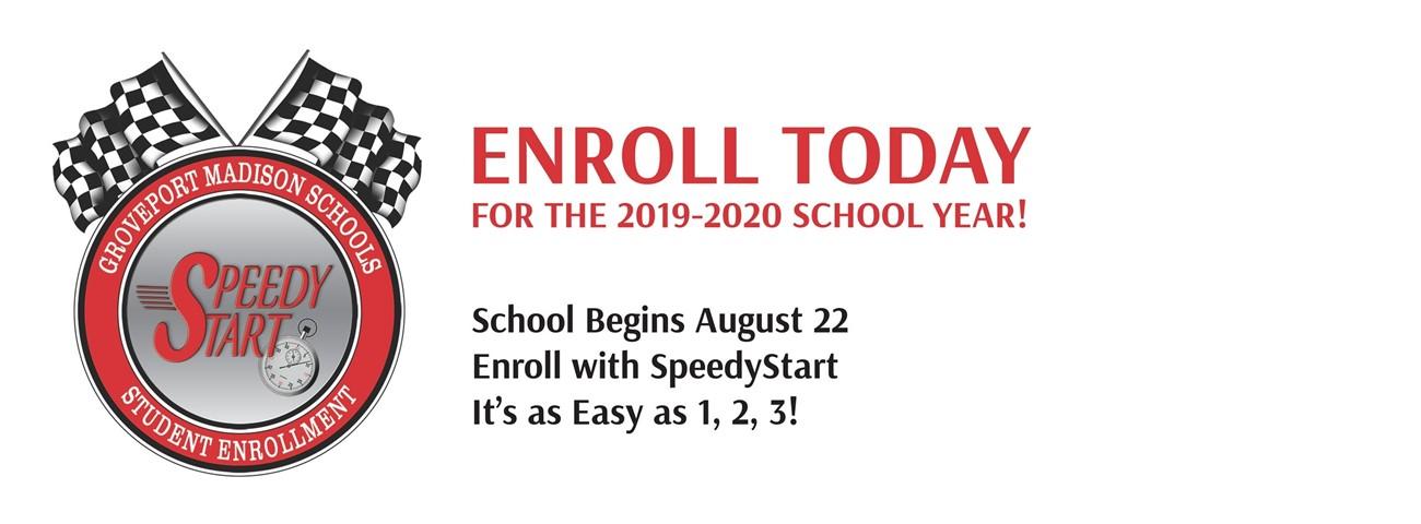 Enroll today advertisement