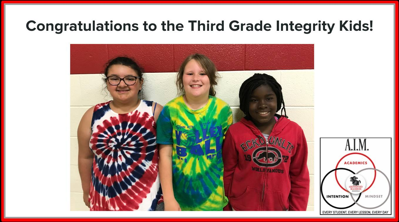Third Grade Focus Students
