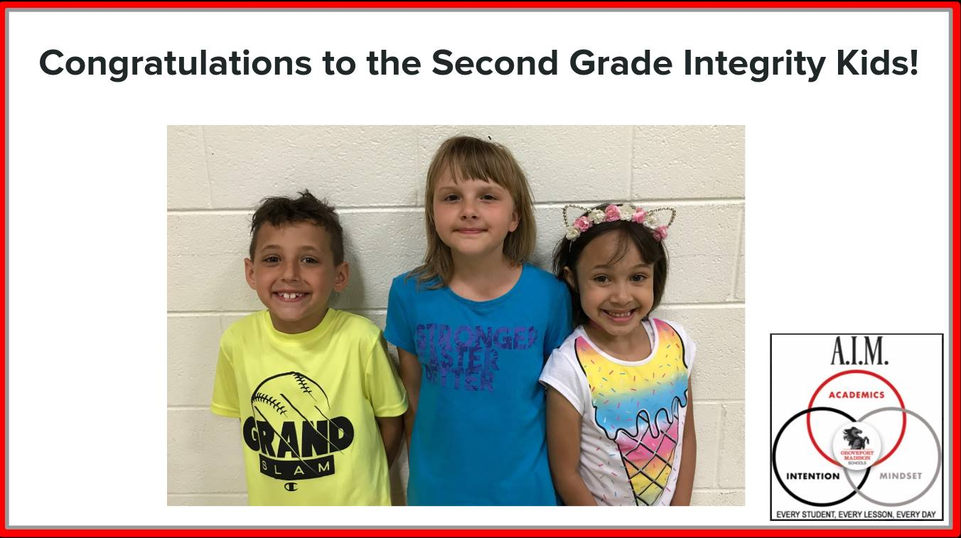 Second Grade Focus Students