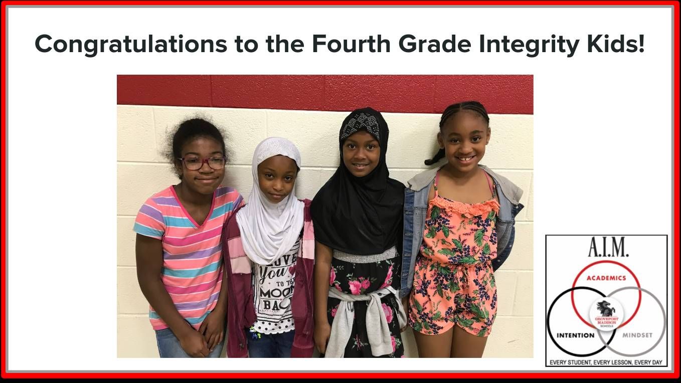 Fourth Grade Focus Students