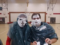 Staff Pie in the Face