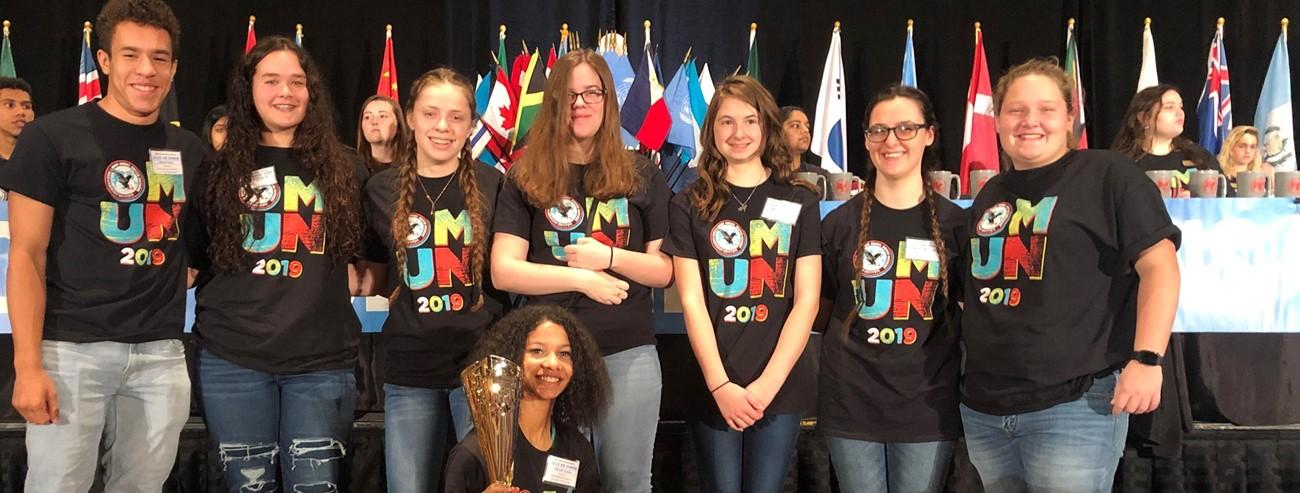 Ohio Model UN Students