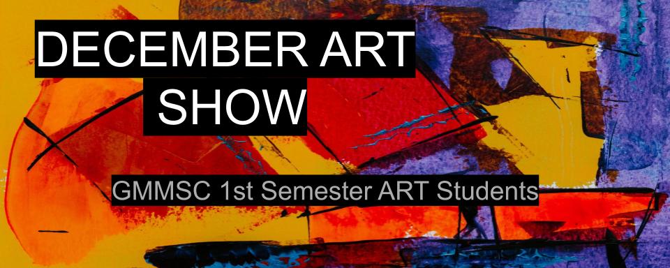 December Art Show