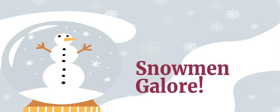 7th Grade Snowmen