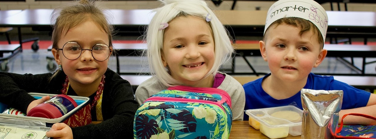 Kindergartners celebrate the 100th day of school