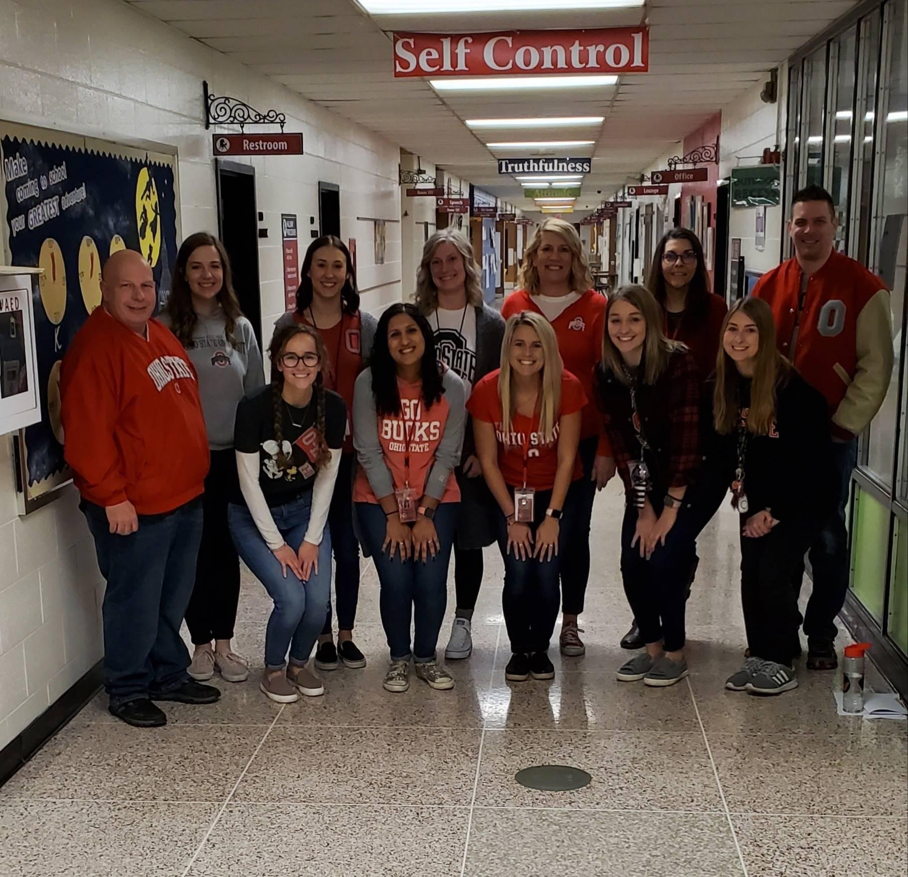 Teacher's representing Ohio State University