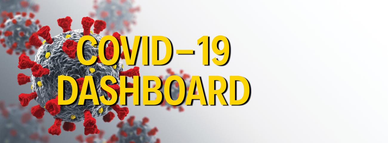 COVID-19 Dashboard banner