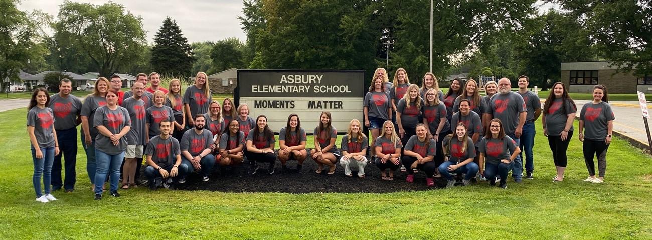 Asbury Elementary Staff 2021-22