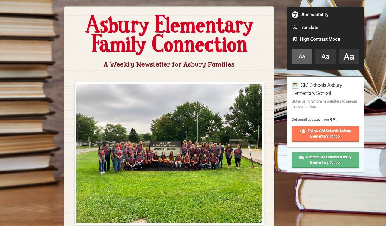 Asbury Elementary Family Connection